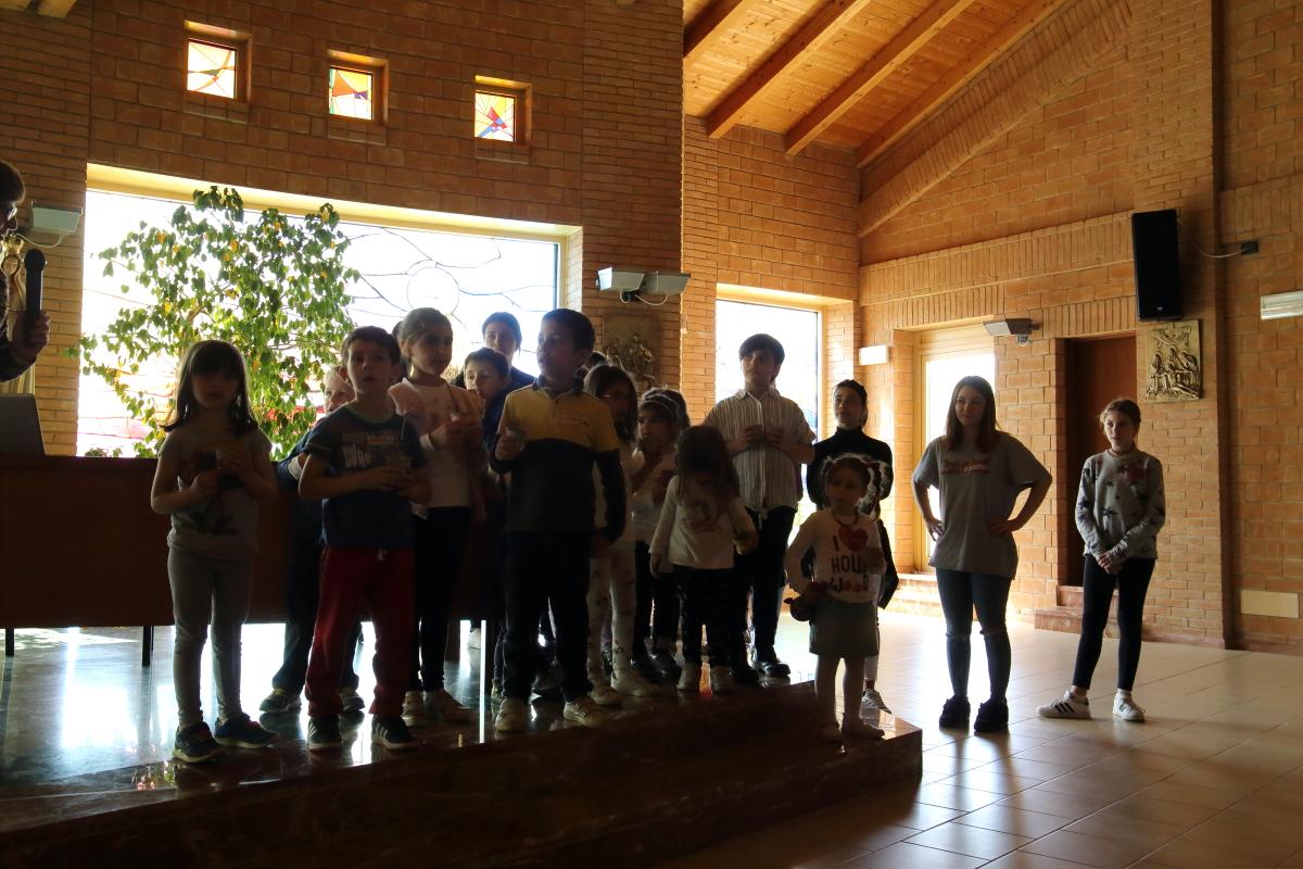 I bambini e ragazzi agli esercizi spirituali 2019 a Cella di Noceto (PR)