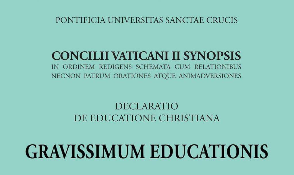 Gravissimum Educationis momentum